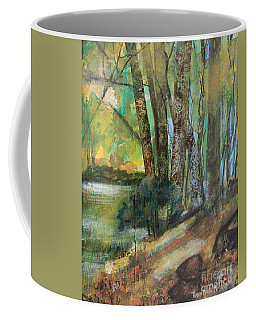 Woods In The Afternoon Coffee Mug by Robin Maria Pedrero