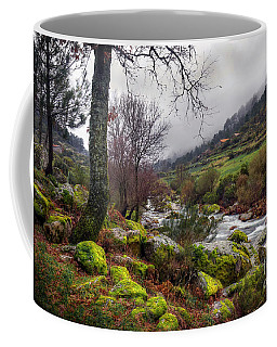 Woods Landscape Coffee Mug by Carlos Caetano