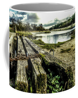 Coffee Mug featuring the photograph Woodside by Nick Bywater