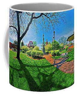 Woodstock Square Historic District 360 Spring Coffee Mug