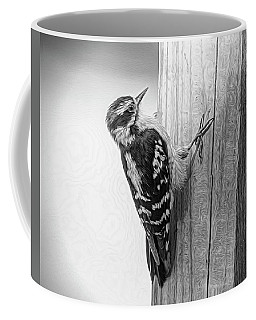 Woody In Black N White Coffee Mug