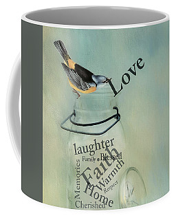 Coffee Mug featuring the photograph Love by Robin-Lee Vieira