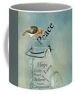 Coffee Mug featuring the photograph Peace by Robin-Lee Vieira