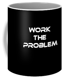 Work The Problem The Martian Tee Coffee Mug