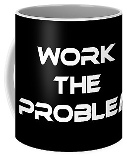 Work The Problem The Martian Tee Coffee Mug