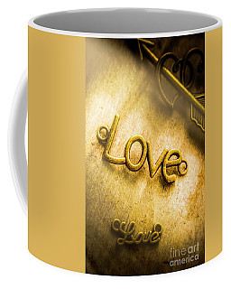 Words And Letters Of Love Coffee Mug