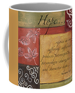Words To Live By Hope Coffee Mug