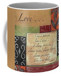 Words To Live By Love Coffee Mug