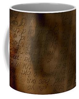 Words Winding Coffee Mug