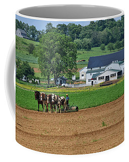 Working The Fields Coffee Mug by Tricia Marchlik