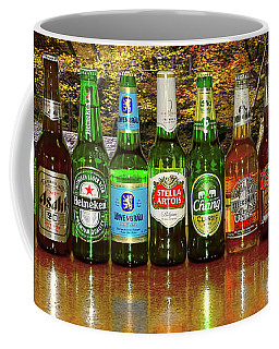 Coffee Mug featuring the photograph World Beers By Kaye Menner by Kaye Menner