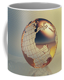 World Global Business Background Coffee Mug