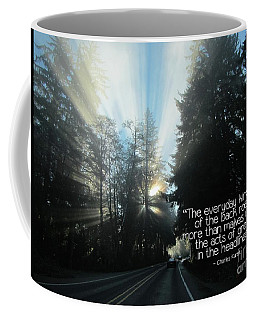 Coffee Mug featuring the photograph World Kindness Day by Peggy Hughes