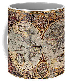 World Map 1636 Coffee Mug
