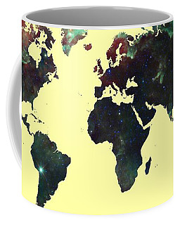 World Map 2 Coffee Mug