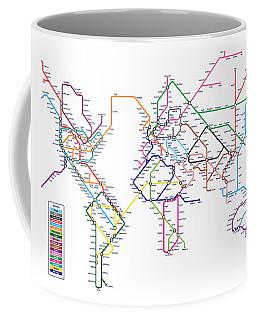 London Tube Coffee Mugs