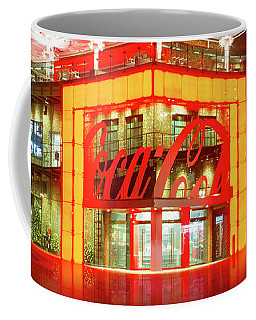 Coffee Mug featuring the photograph World Of Coca Cola At Disney Springs by Mark Andrew Thomas