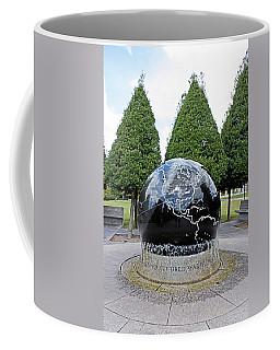 World War II Globe Bicentennial Tennessee Coffee Mug by Kristin Elmquist