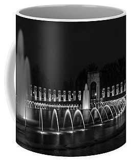 World War II Memorial Coffee Mug by Ed Clark