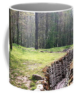 Coffee Mug featuring the photograph World War One Trenches by Travel Pics