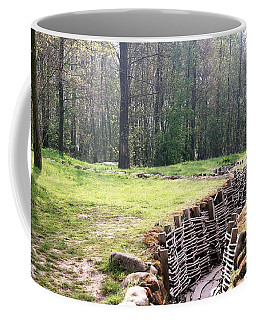 World War One Trenches Coffee Mug by Travel Pics