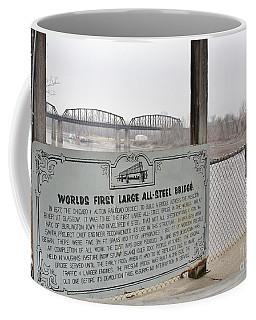 Worlds First Large All Steel Bridge Coffee Mug
