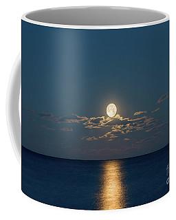 Worm Moon Over The Atlantic Coffee Mug