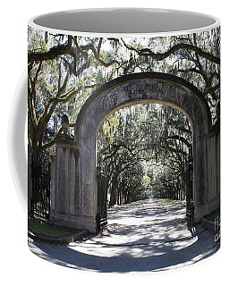 Wormsloe Plantation Gate Coffee Mug