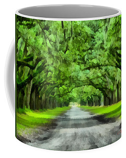 Wormsloe Plantation Coffee Mug