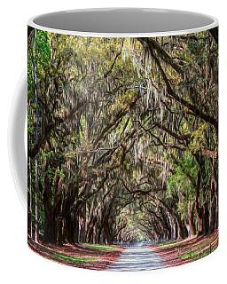Wormsloe Plantation Oaks Coffee Mug