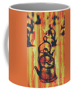 Worn And Weathered Kettles Coffee Mug