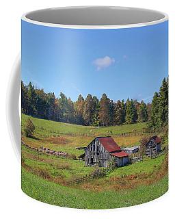 Worn Out Coffee Mug by Sharon Batdorf