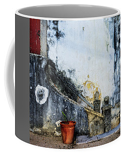 Worn Palace Stairs Coffee Mug