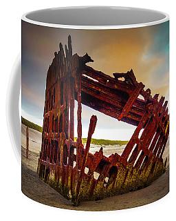 Worn Rusting Shipwreck Coffee Mug