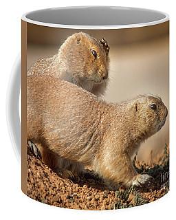 Worried Prairie Dog Coffee Mug