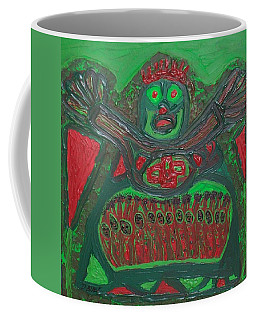 Worship Of A Green Demigod Coffee Mug