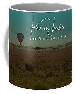 Would You Like To Fly In My Beautiful Balloon? Coffee Mug by Karen Lewis