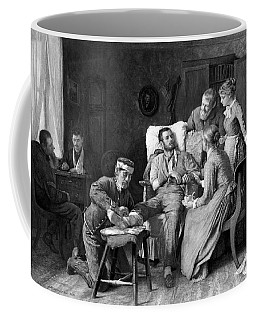 Wounded Soldier At The Battle Of Gettysburg Coffee Mug