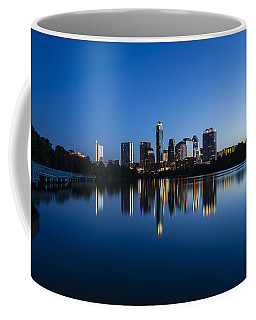 Wrapped In Blue Coffee Mug