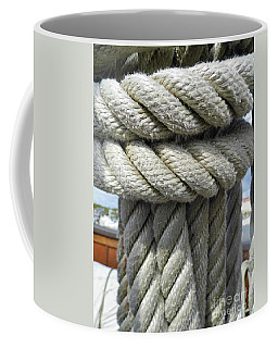 Wrapped Up Tight Coffee Mug by D Hackett