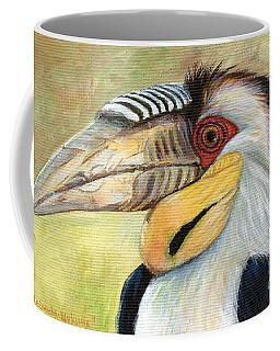 Wreathed Hornbill  Coffee Mug