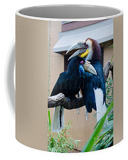 Wreathed Hornbills Coffee Mug