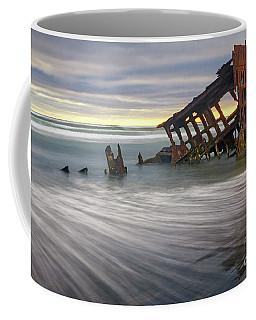 Wreck Of Peter Iredale Coffee Mug