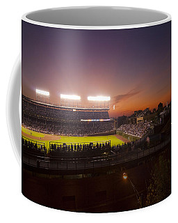 Wrigley Field At Dusk Coffee Mug