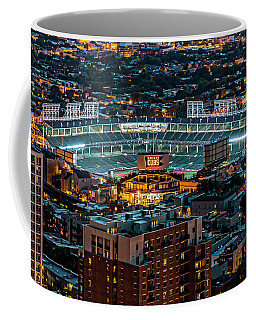 Wrigley Field From Park Place Towers Dsc4678 Coffee Mug