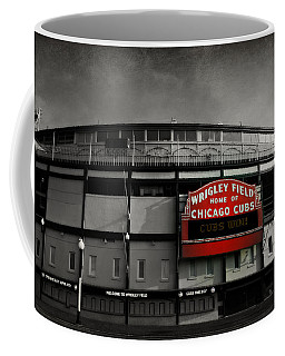 Wrigley Field Home Of The Chicago Cubs Coffee Mug