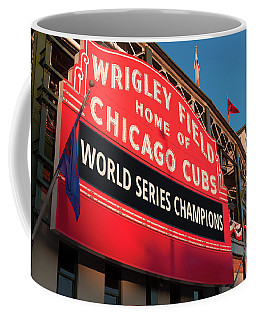 Wrigley Field World Series Marquee Angle Coffee Mug