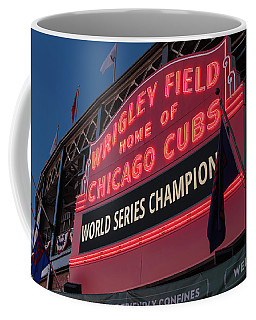 Wrigley Field World Series Marquee Coffee Mug