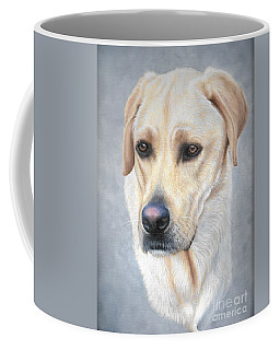 Coffee Mug featuring the painting Wrigley by Mike Ivey