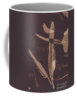 Writers Guild Abstract Coffee Mug